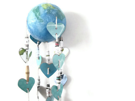 Makeart Workshop At Museum Of Craft And Design Earth Day Mobiles