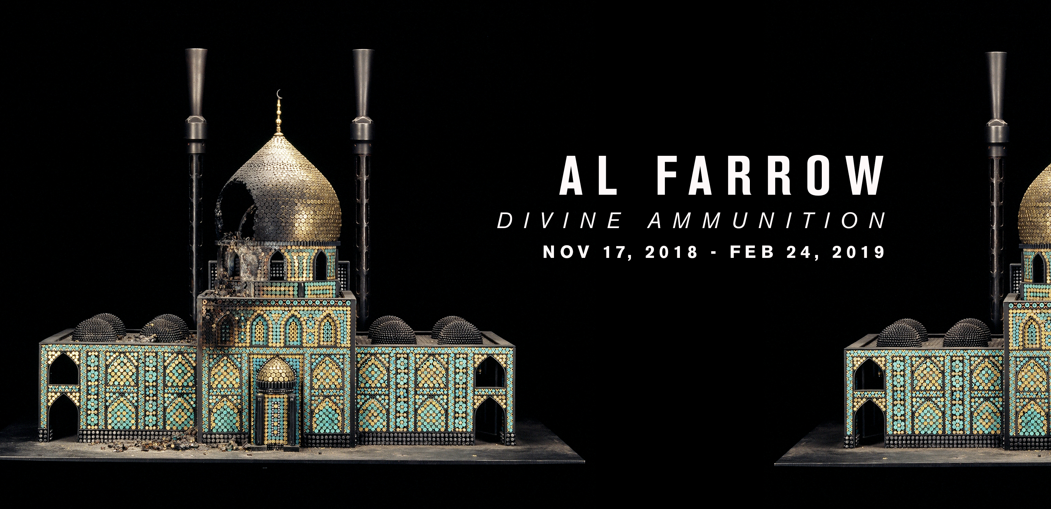 Al Farrow: Divine Ammunition at the Museum of Craft and Design