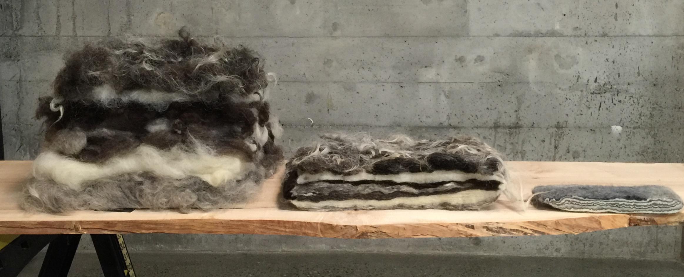Janice Arnold, wool