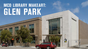 Photo of the exterior of Glen Park Library.