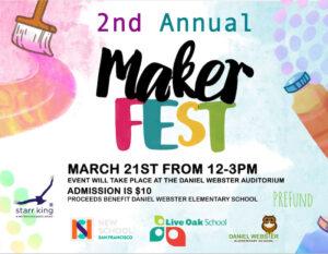 Maker Fest logo and information displayed.